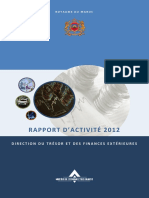 Rapport DTFE 2012 MAROC