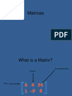 Matrices 1
