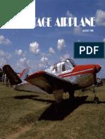 Vintage Airplane - Aug 1984