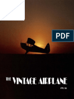 Vintage Airplane - Apr 1984