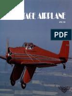 Vintage Airplane - Apr 1985