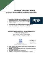 A Universidade Virtual No Brasil
