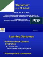 Geriatrics Presentation