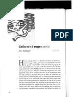 Griberen i Rugen - JD Salinger