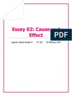 Cause and Effect Draft