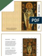 Orthodox St Nicholas Booklet