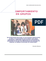 Comportamiento en Grupos