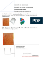 Organización Portafolio 2014 1
