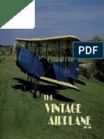 Vintage Airplane - Jun 1986