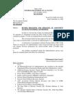 Assignment Account Procedure
