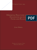 J.F. Wippel, Medieval Reactions to the Encounter Faith and Reason