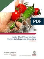 Master Oficial Universitario en Gestion de La Seguridad Alimentaria