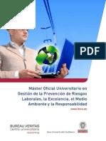 Master Oficial Universitario Gestion PRL Excelencia MA y RSC