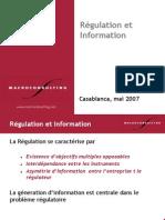 9.Régulation Et Information