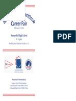 Career Fair Program 2014