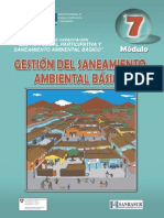 Modulo VII - Gestion Del Saneamiento Ambiental Basico