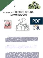 EL MARCO TEORICO DE UNA INVESTIGACION.pptx