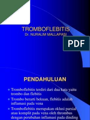 tromboflebitis slideshare
