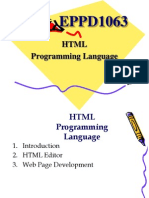 3. HTML