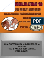 INTRODUCION ANALISIS EMPRESARIAL