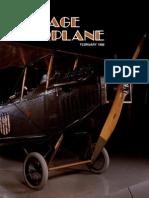 Vintage Airplane - Feb 1986