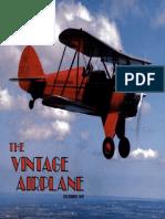 Vintage Airplane - Dec 1987