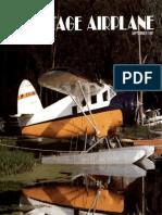Vintage Airplane - Sep 1987