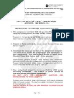 Introduction to Communication (Cbfc1103)