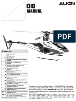 Trex500E Instruction Manual