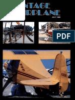 Vintage Airplane - Jul 1989
