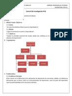 Sistema de Información Administrativa - Control de Investigacion 4b