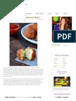 Arancini (Rice Balls) With Marinara Sauce Recipe _ Just a Taste