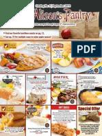 Alison's Pantry catalog #9 September 2014