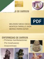 Enfermedad de Carrion, TERMINADO