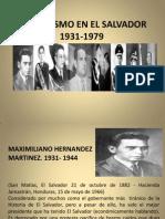 Militarismo en El Salvador 1931-1979