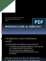 Primera unidad. Concepto y función del derecho.ppt
