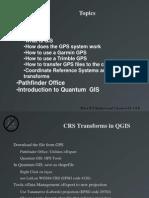 Gps Gis Outline