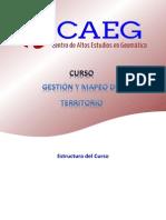 Estructura Del Curso - Gestion y Mapeo Del Territorio