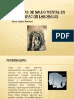 Problemas de Salud Mental en Los Espacios Laborales[1]