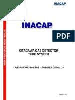 Sistema Detector Gases Kitagawa