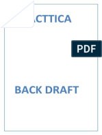 Practica Back-draft