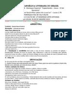 2 Domingo Apos Epifania - 2013