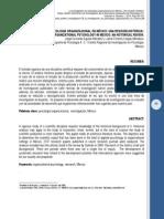 78 La Investigacion en Psicologia Organizacional en Mexico