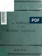 A handbook of the Swahili language, as spoken at Zanzibar