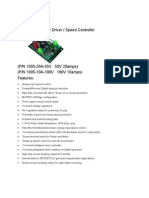 Device Craft Speed Spec