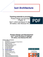 10 Product Architecture