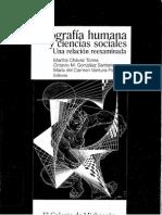 Geografía Humana Como Ciencia Social, GIMÉNEZ GILBERTO
