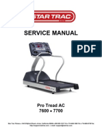 Product Support-startrac-Technical Manuals-Treadmills-620-7734B Ac Pro Tread 7600 7700 Treadmill Service Manual (1)