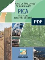 Programa de Inversiones a Cuatro Años (PICA) 2012-2016