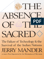 Jerry Mander - In the Absence of the Sacred